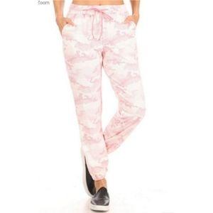 Boutique Pink High Waist Joggers